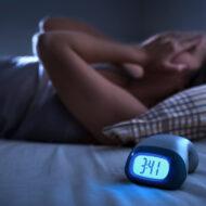 Trouble du sommeil et insomnie